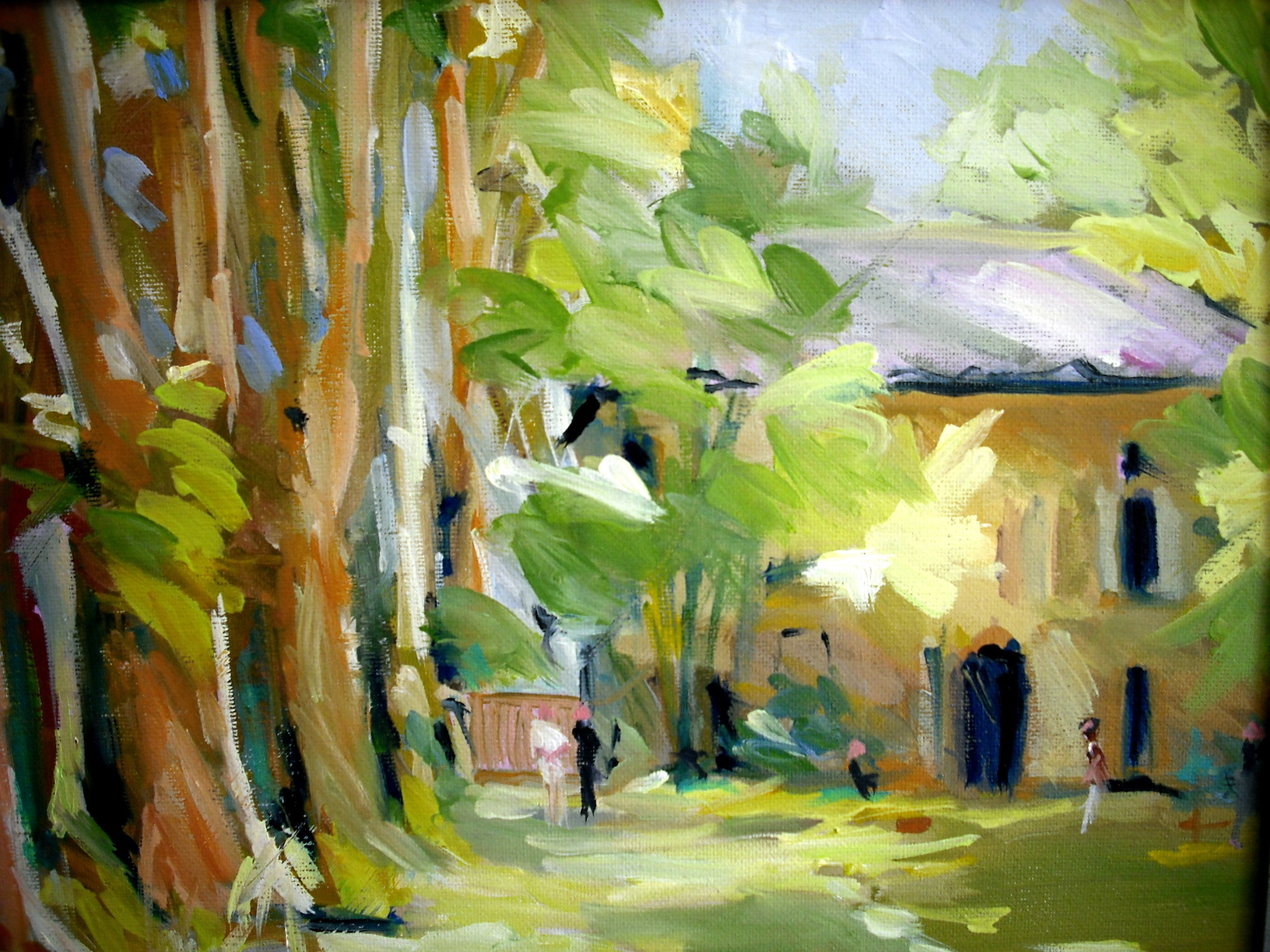 Cezannes home