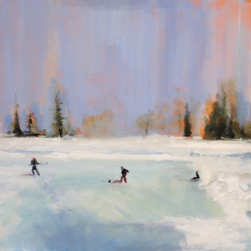 Pond skating