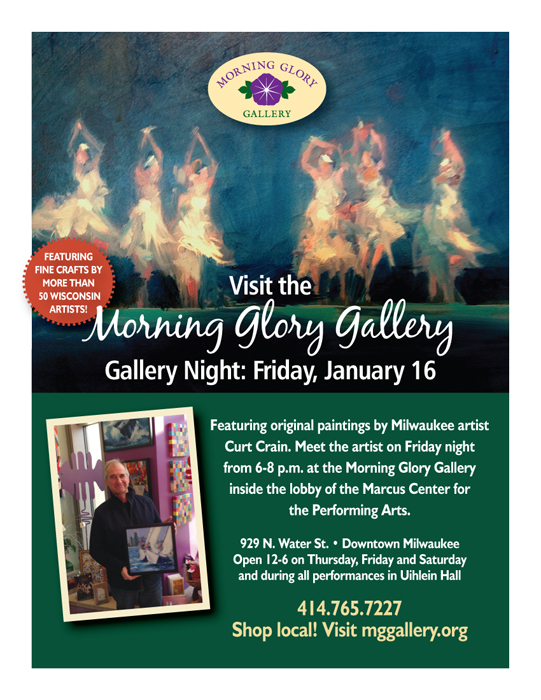 Gallery night at Morning Glory Gallery