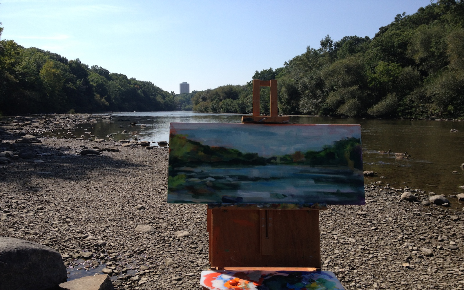 Shorewood Plein air